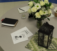 Photo #32-Guest Book Table at luncheon