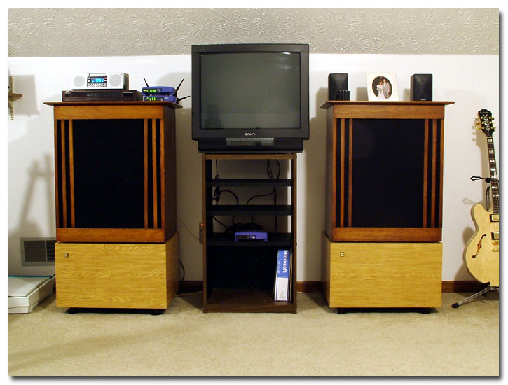 Custom JBL Loudspeakers, Subwoofers, Sony TV/Monitor